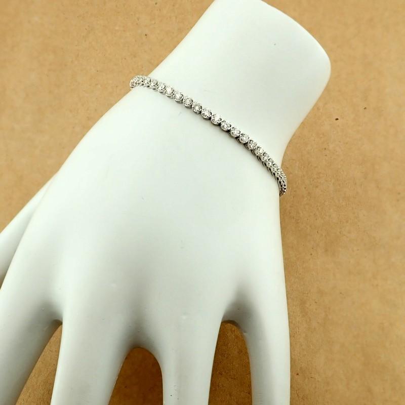 14K Diamond Bracelet 3,00ct - Image 2 of 4