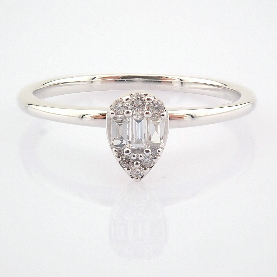 14K White Gold Diamond Ring - Image 2 of 6