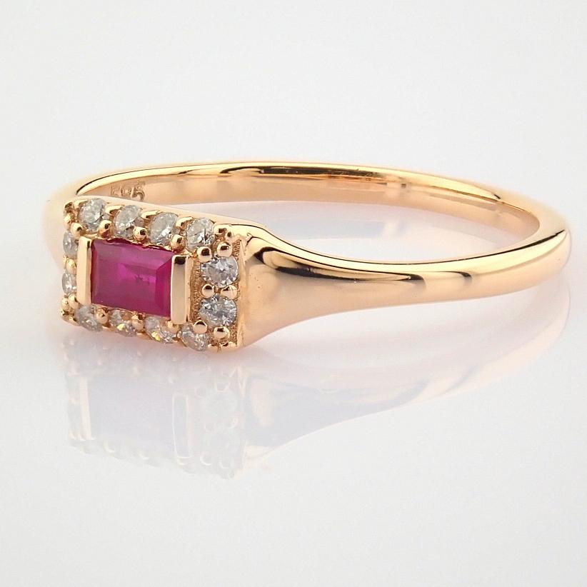 14K Diamond & Sapphire Bracelet 13,74 Ct. Total - Image 6 of 6