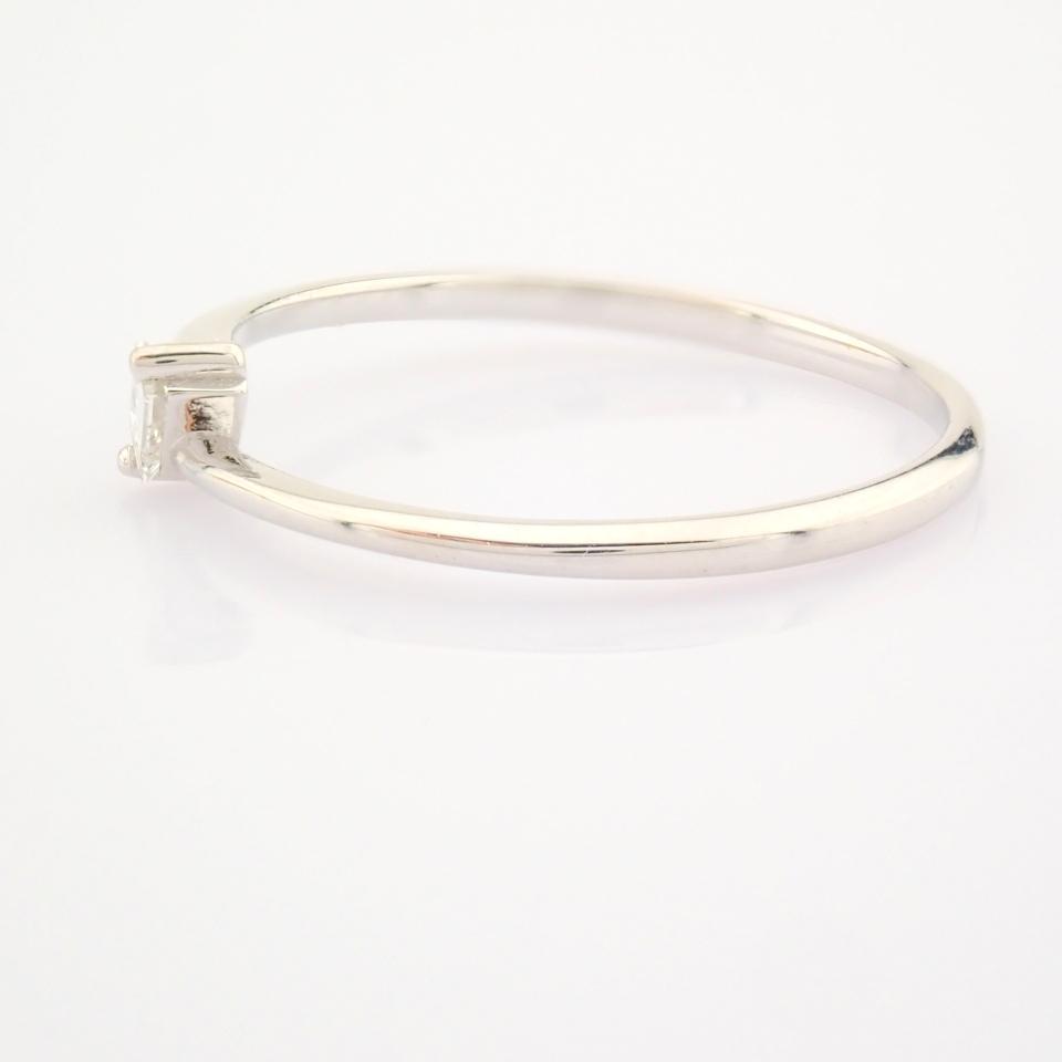 14K White Gold Diamond Ring - Image 10 of 12
