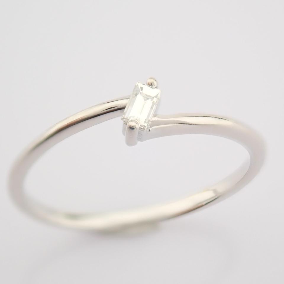 14K White Gold Diamond Ring - Image 3 of 12