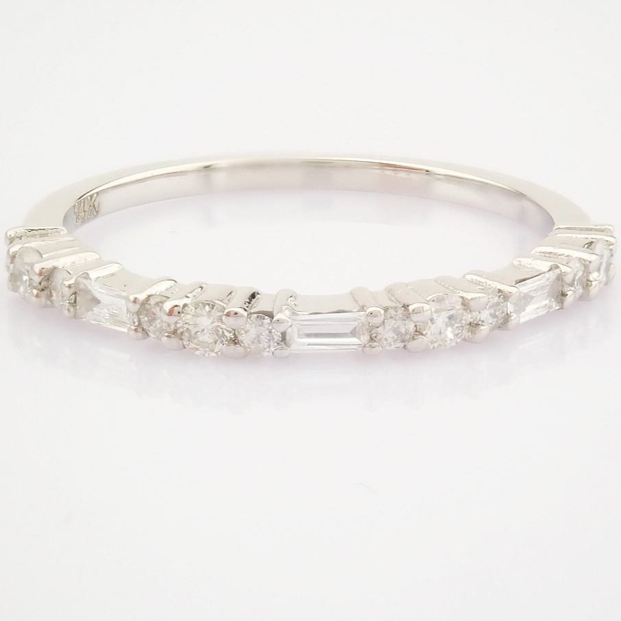 14K White Gold Diamond Ring - Image 6 of 8