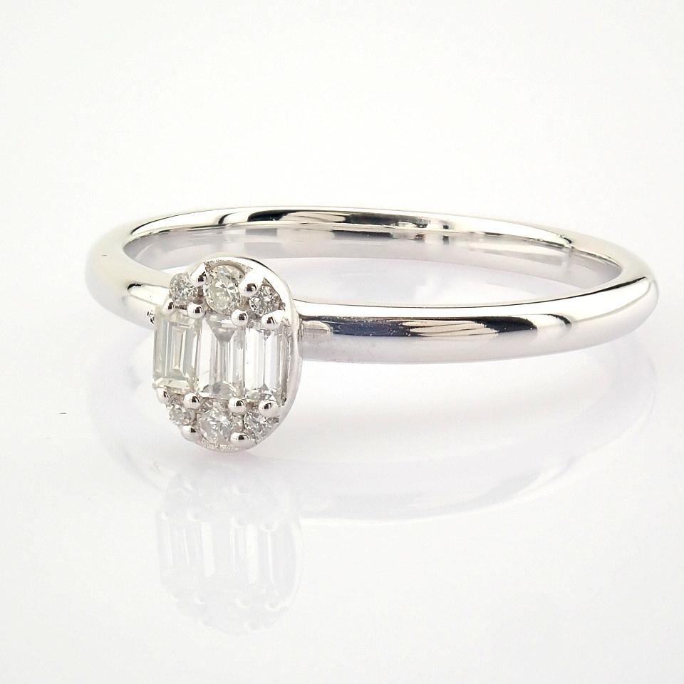 14K White Gold Diamond Ring - Image 5 of 7
