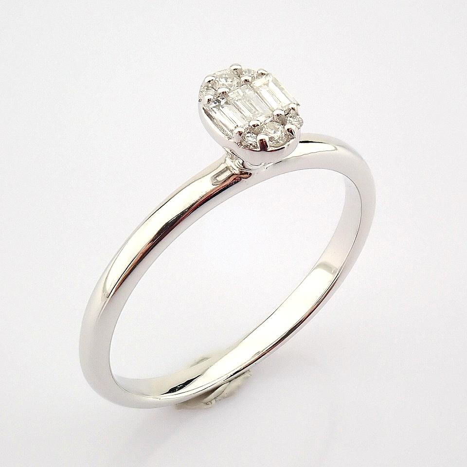 14K White Gold Diamond Ring - Image 2 of 7