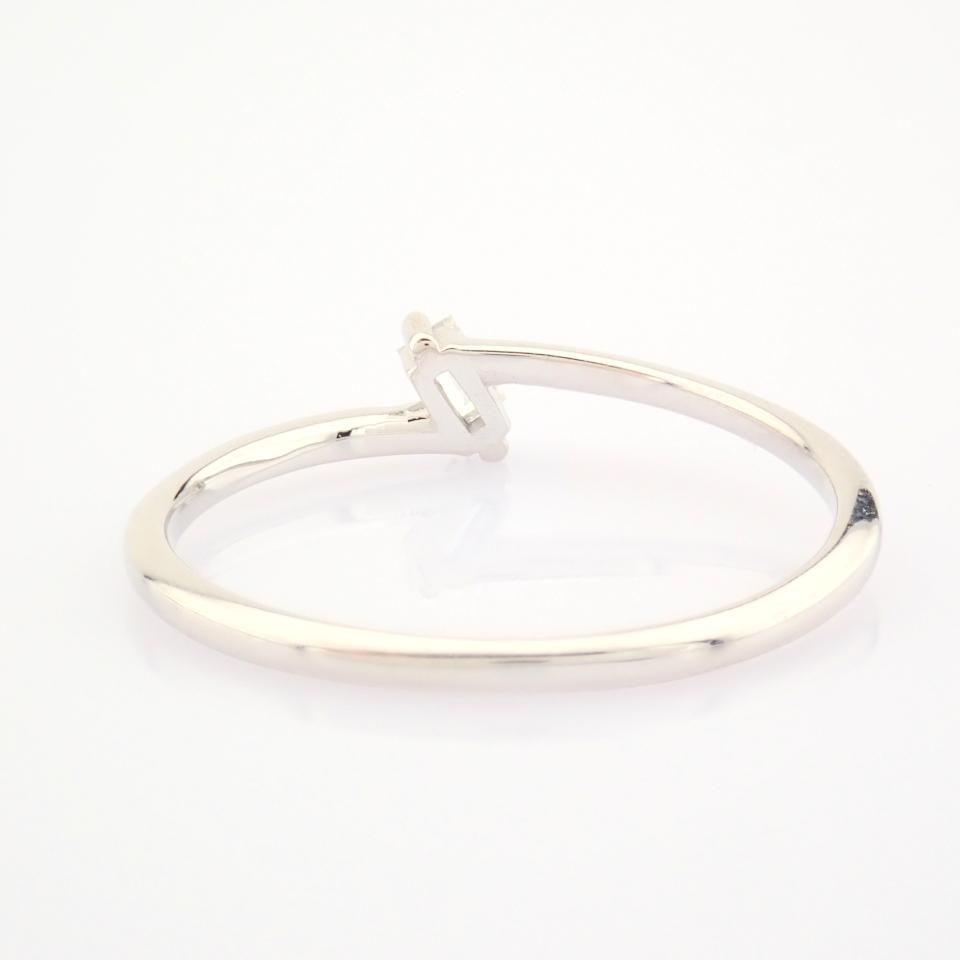 14K White Gold Diamond Ring - Image 11 of 12