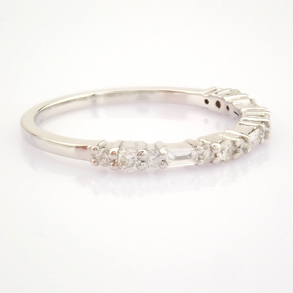 14K White Gold Diamond Ring - Image 8 of 8