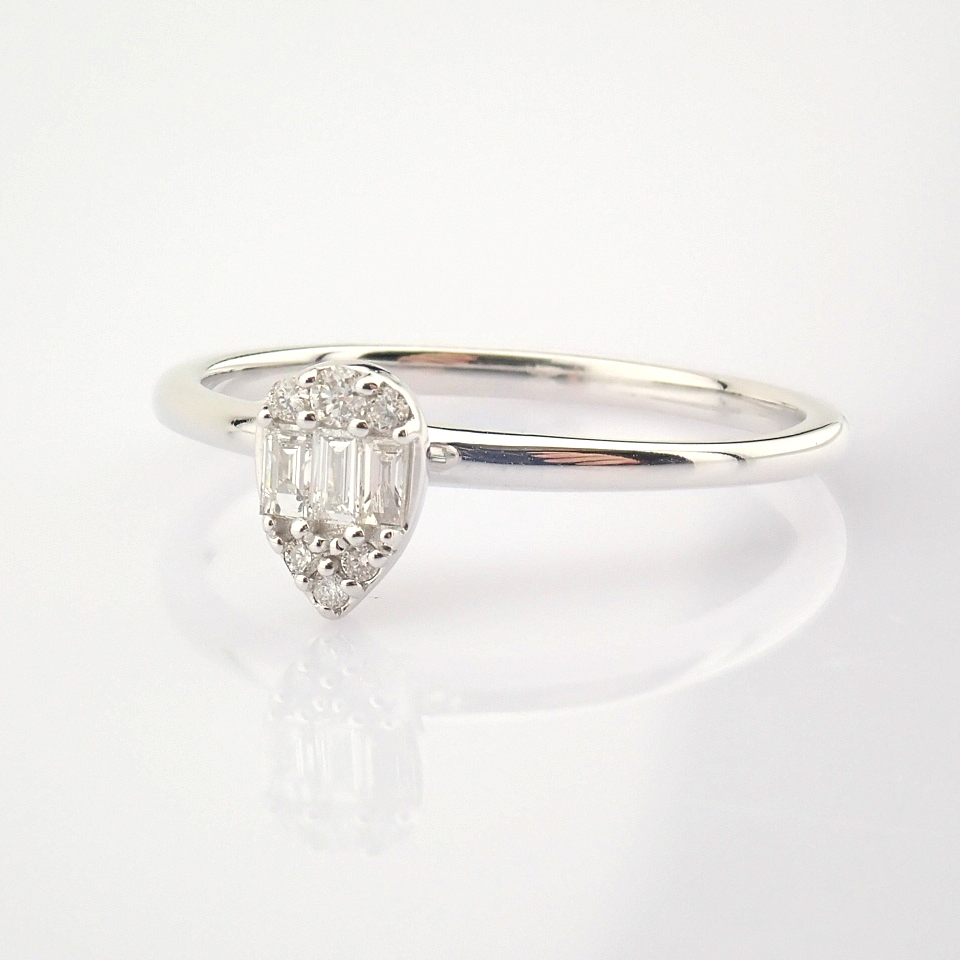 14K White Gold Diamond Ring - Image 3 of 6