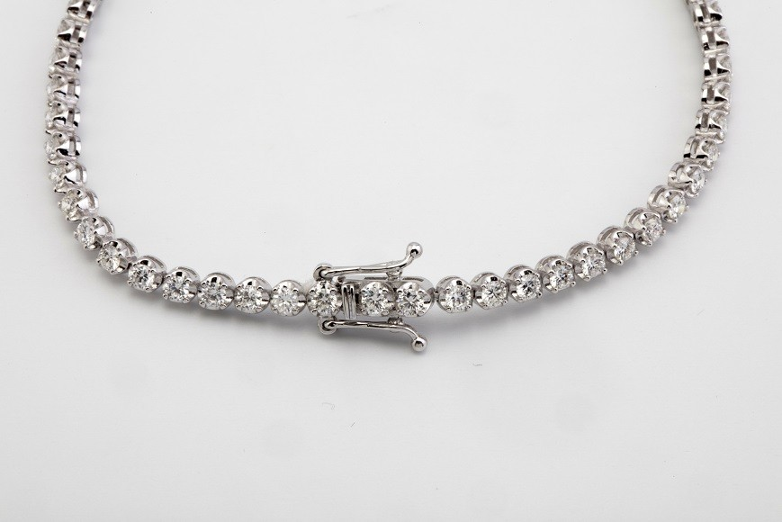 14K Diamond Bracelet 2,00ct - Image 3 of 5