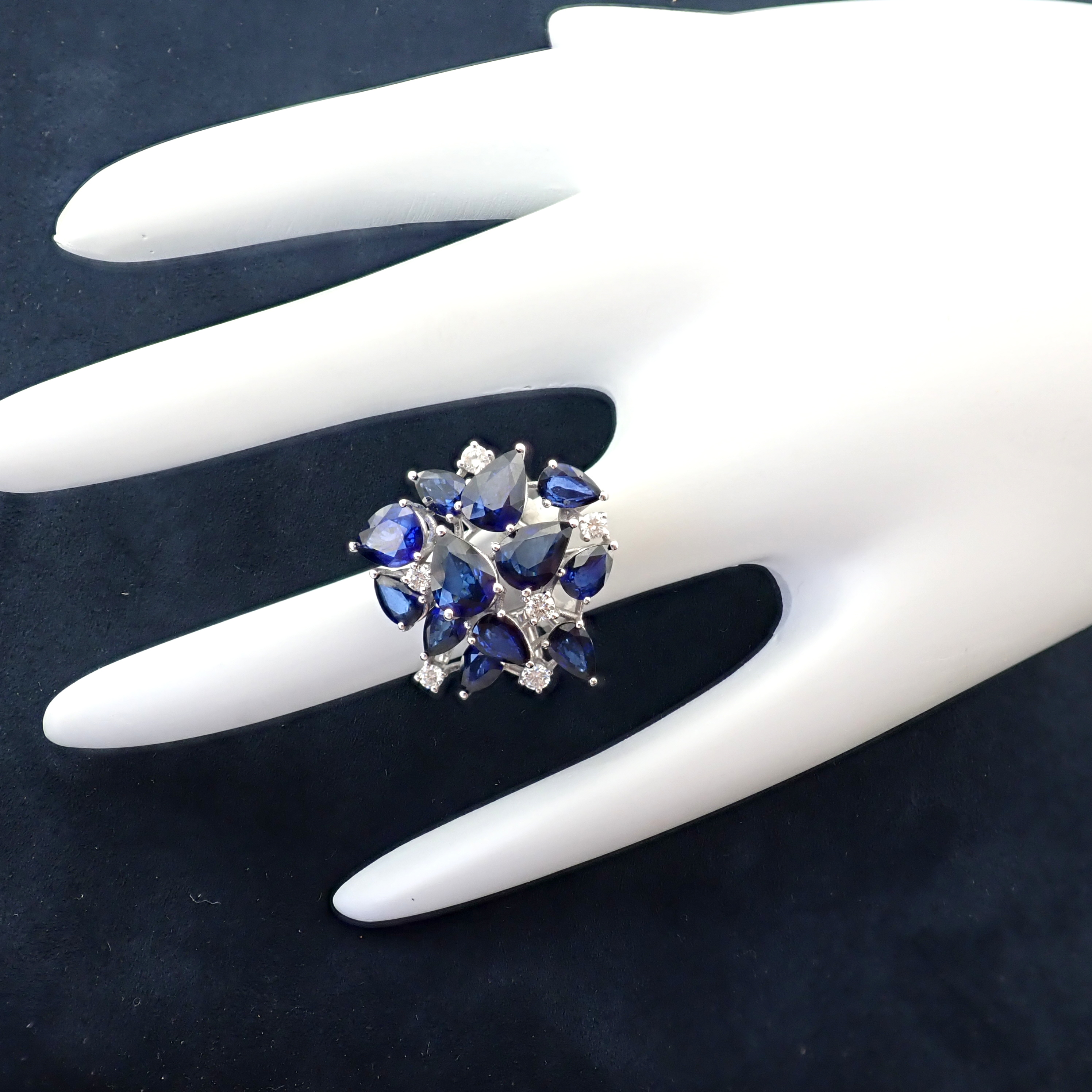 14K Sapphire and Diamond Ring - Image 4 of 7