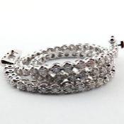 14K 0,91 Ct. Diamond Tennis Bracelet