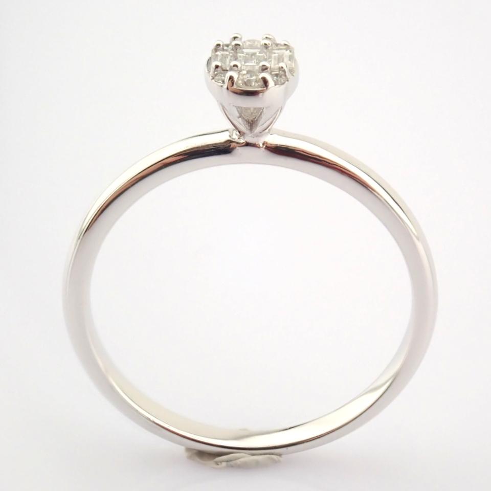 14K White Gold Diamond Ring - Image 3 of 7