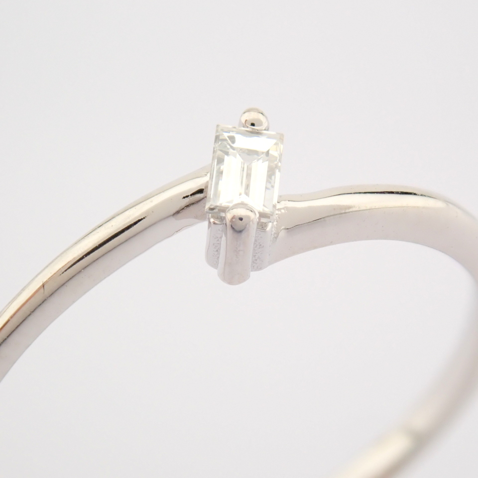 14K White Gold Diamond Ring - Image 5 of 12