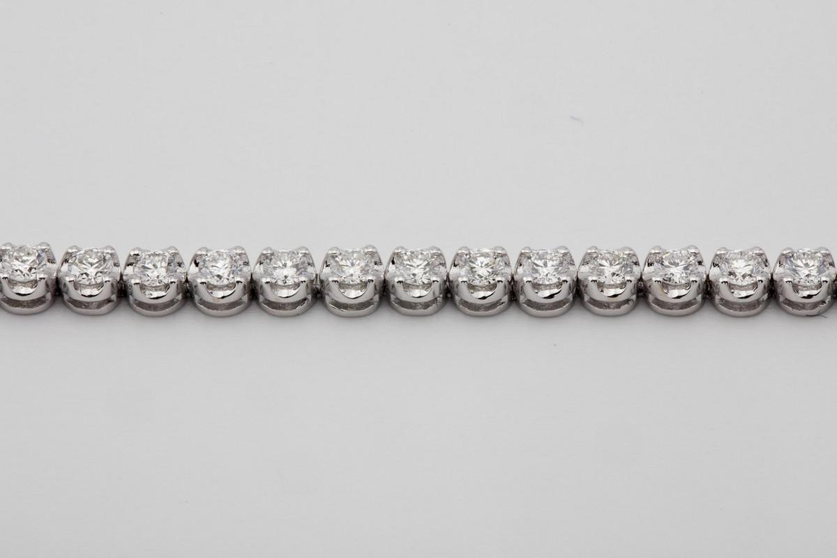 14K Diamond Bracelet 2,00ct - Image 4 of 5
