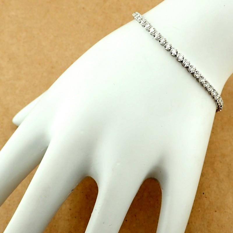 14K Diamond Bracelet 2,00ct - Image 5 of 5
