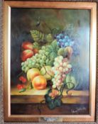 Original Oil on Board by Artist Johnny Gaston