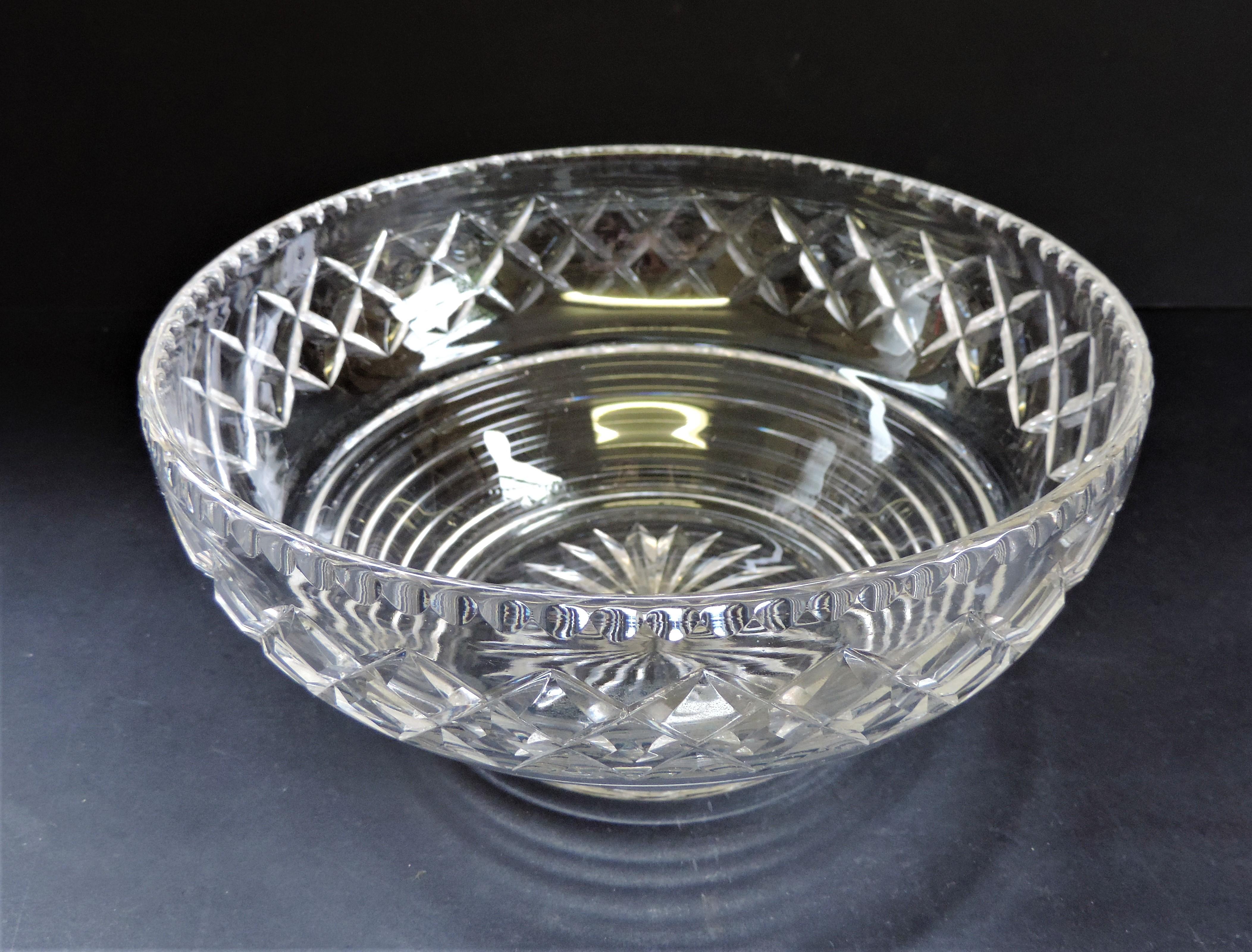 Vintage Art Deco Stuart Crystal Fruit Bowl - Image 2 of 5