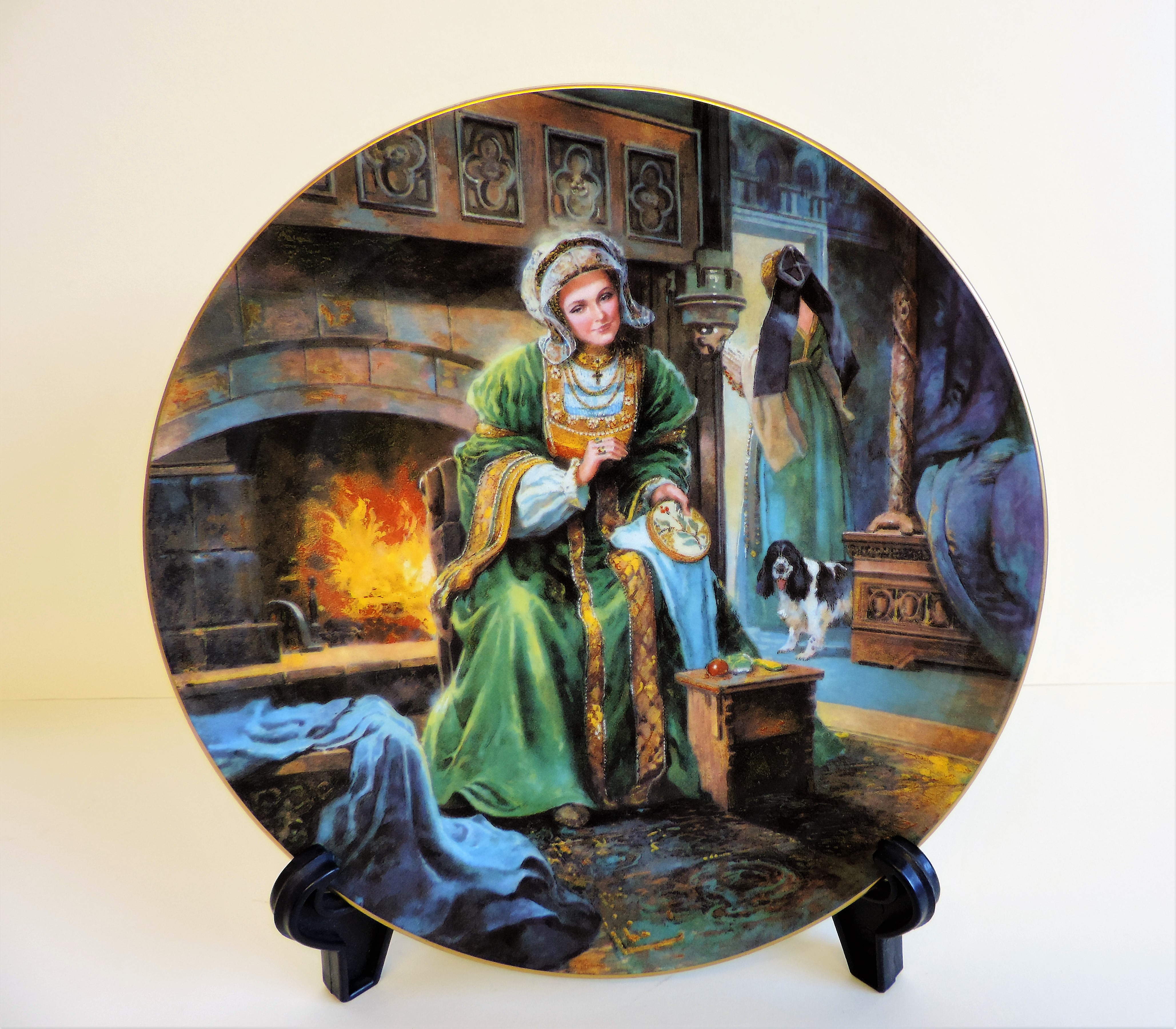 Royal Doulton Anne of Cleves Collectors Plate Limited Edition