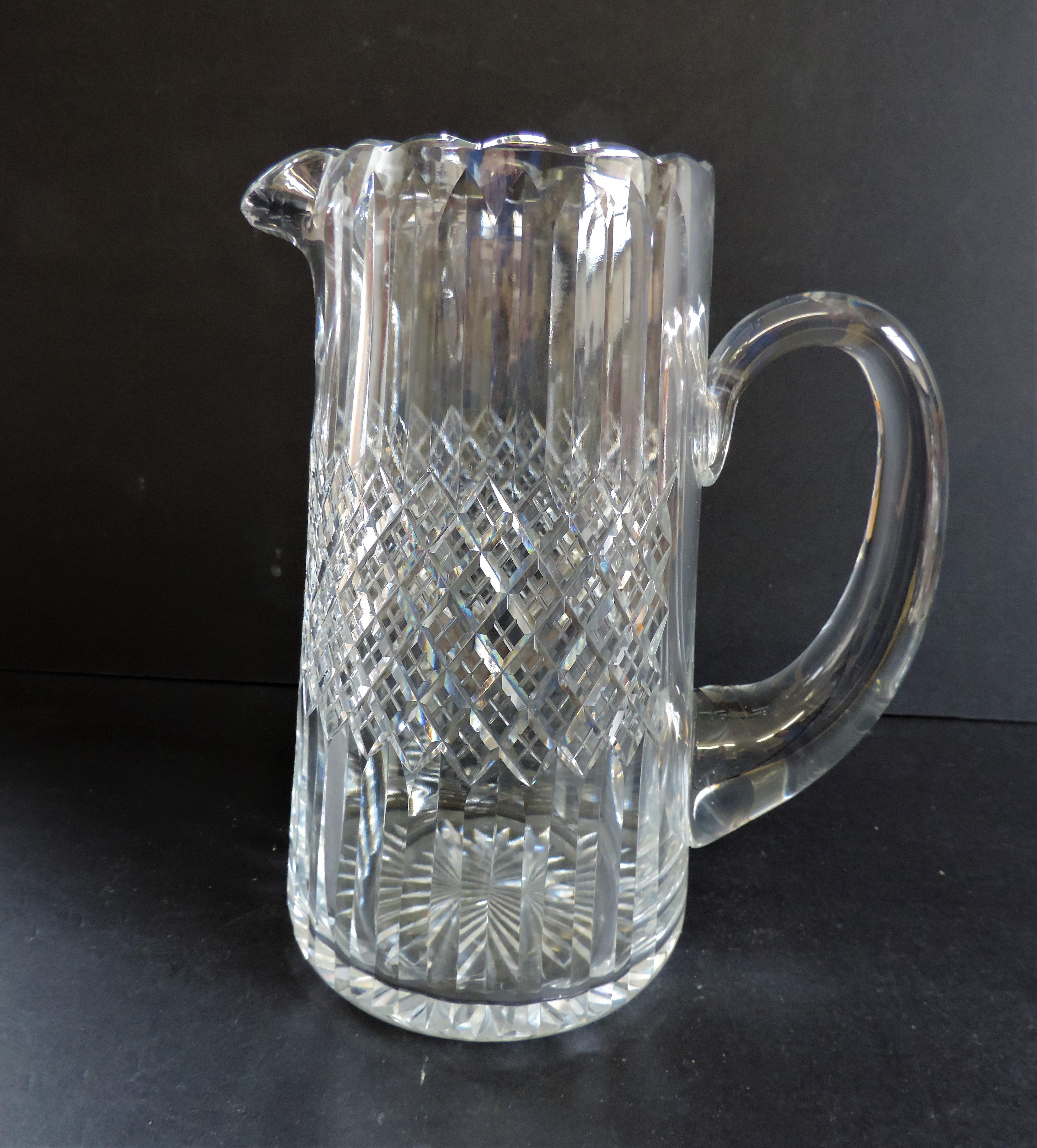 Thomas Webb Crystal Jug Pimms/Sangria/Water 22cm tall