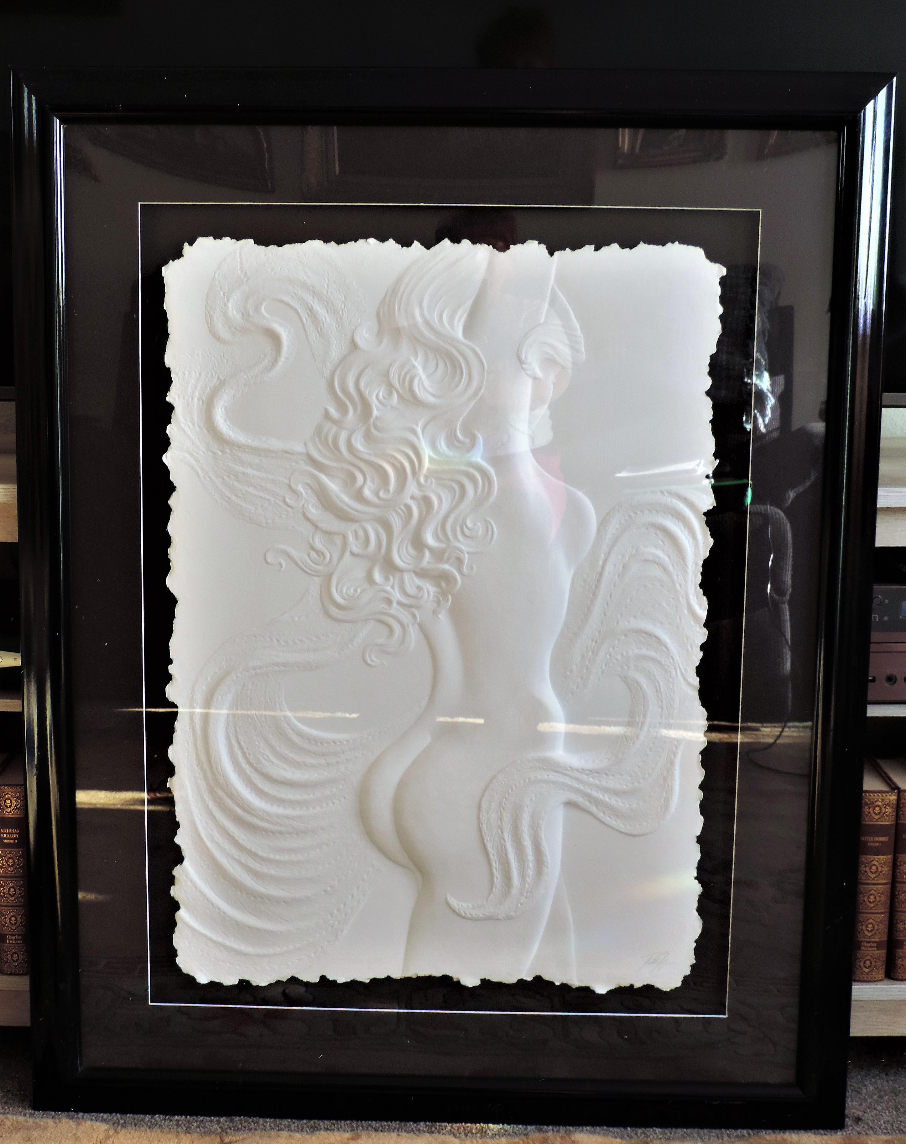 Roberta Peck 'Nude Dancer' Monotype Sculpture on Paper - Image 6 of 12