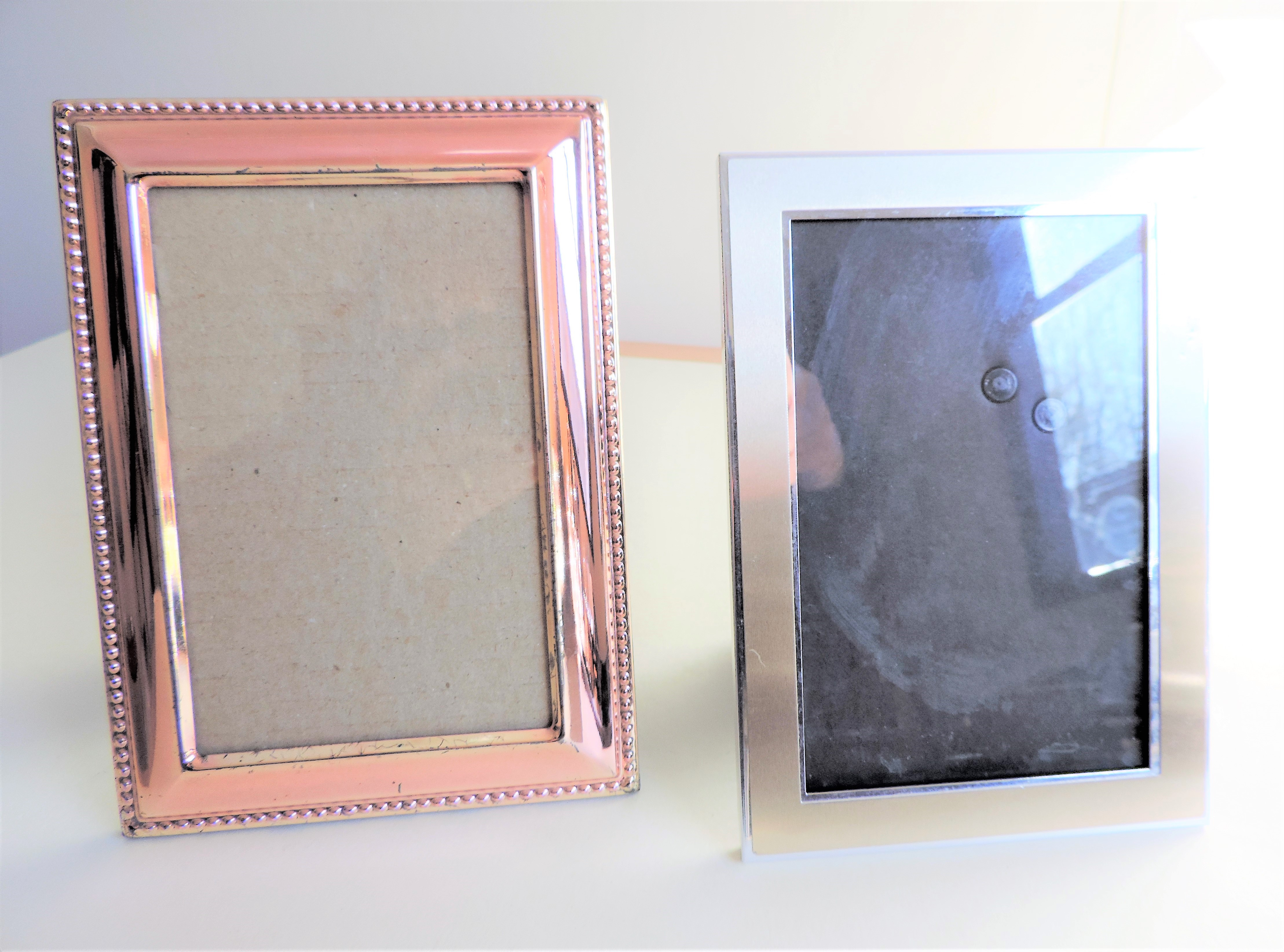 Pair of Silver Plated Photo Frames - Image 3 of 3