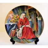 Royal Doulton Catherine Parr Collectors Plate Limited Edition