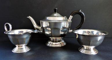 Antique Silver Plated Batchelor's Tea Set