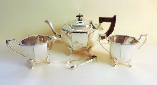 Art Deco Silver Plated Tea Set