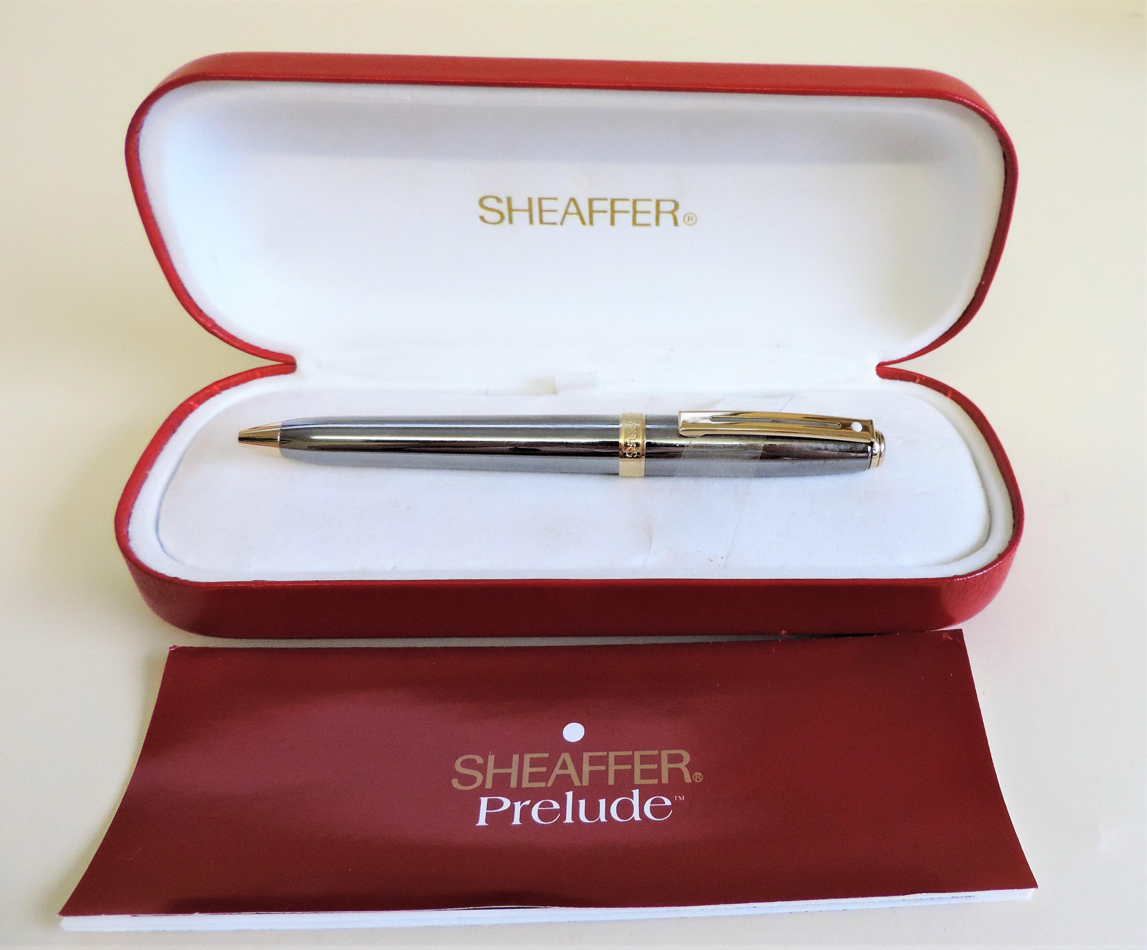 New Boxed Sheaffer Prelude Ballpoint Pen