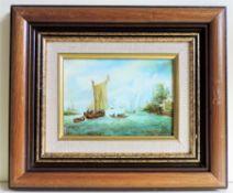 Original Oil Painting Framed