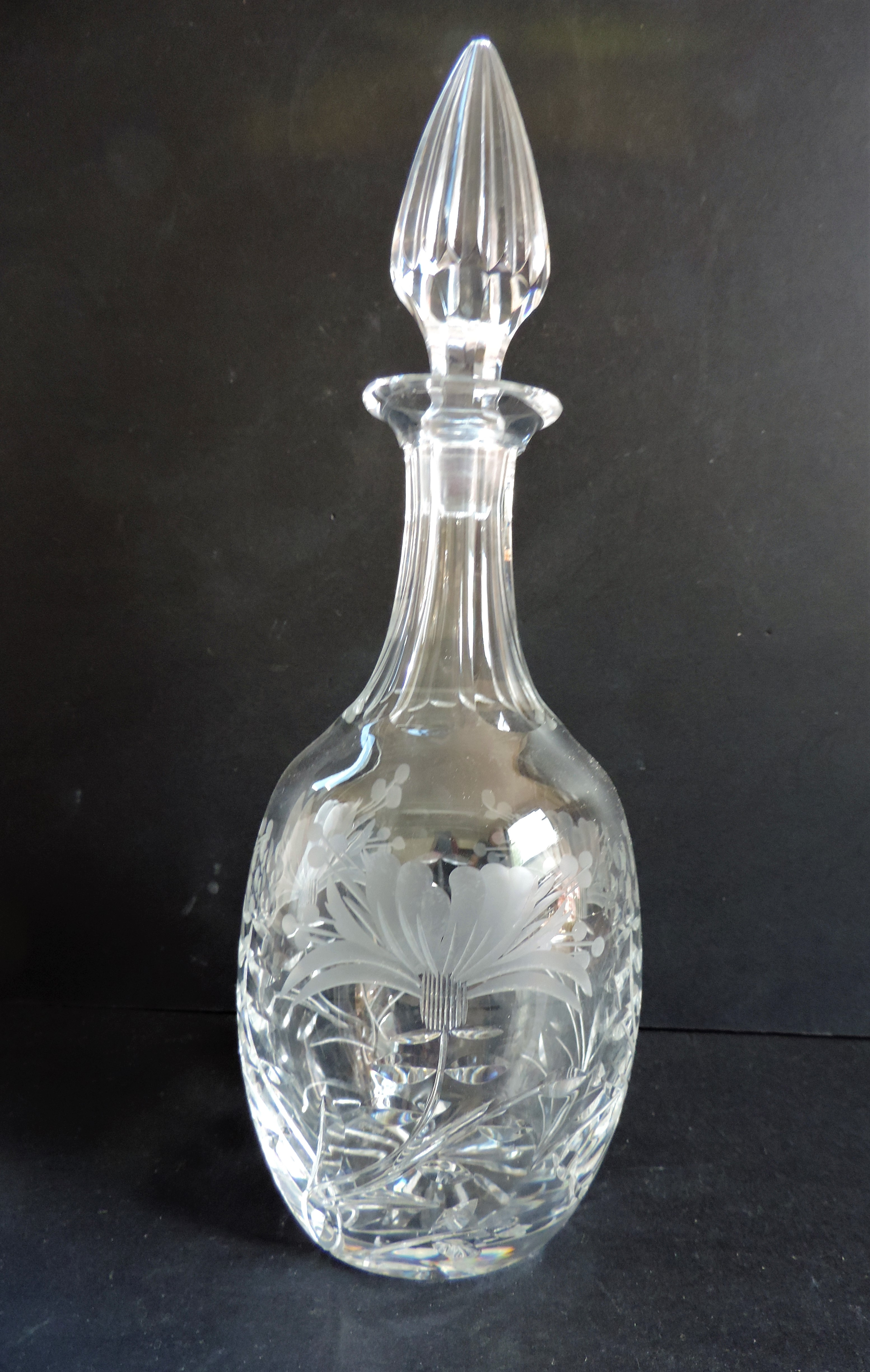Royal Brierley Crystal Decanter - Image 4 of 5
