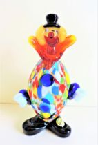 Vintage Murano Glass Clown