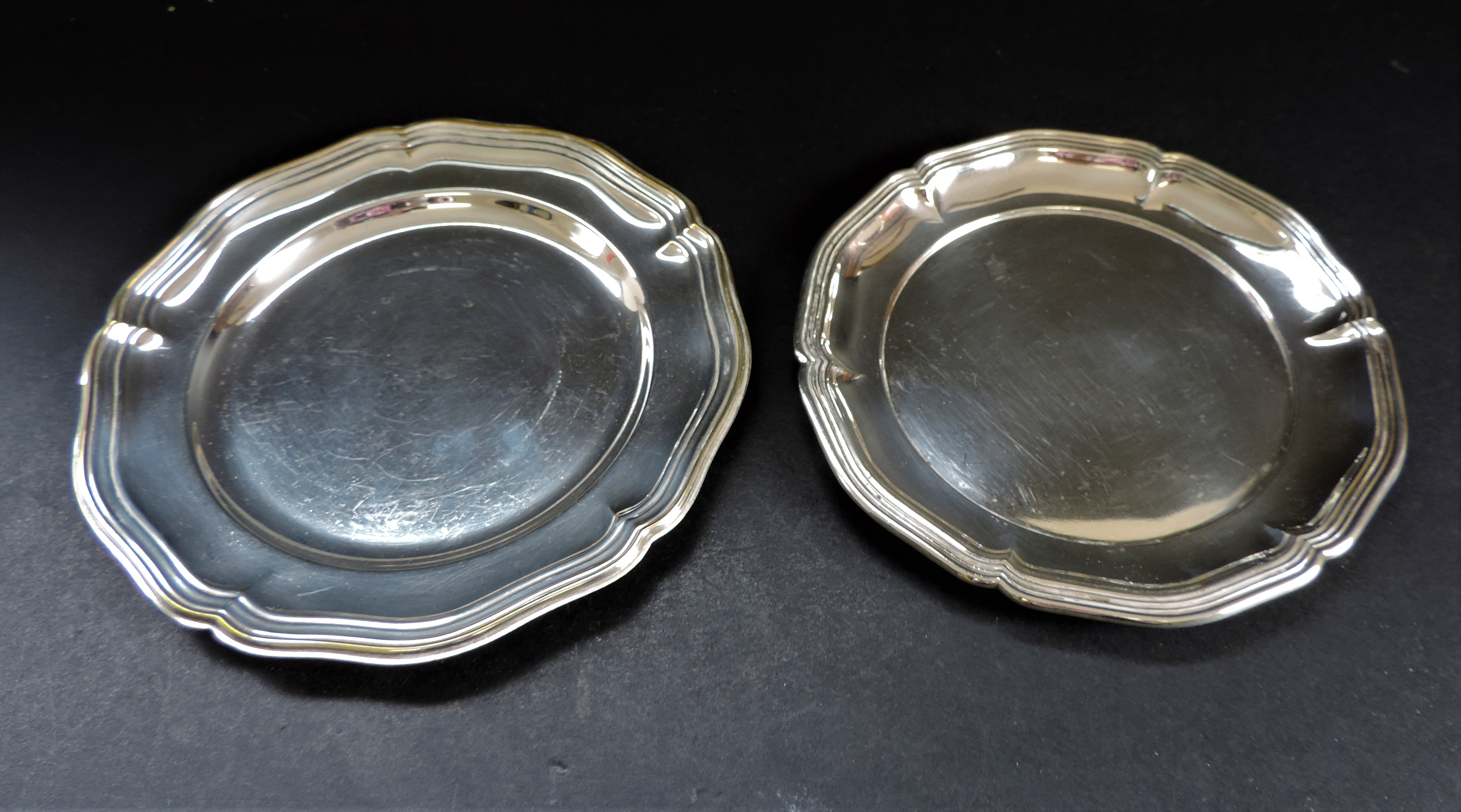 Pair of Antique Silver Plated Salvers - Image 2 of 3