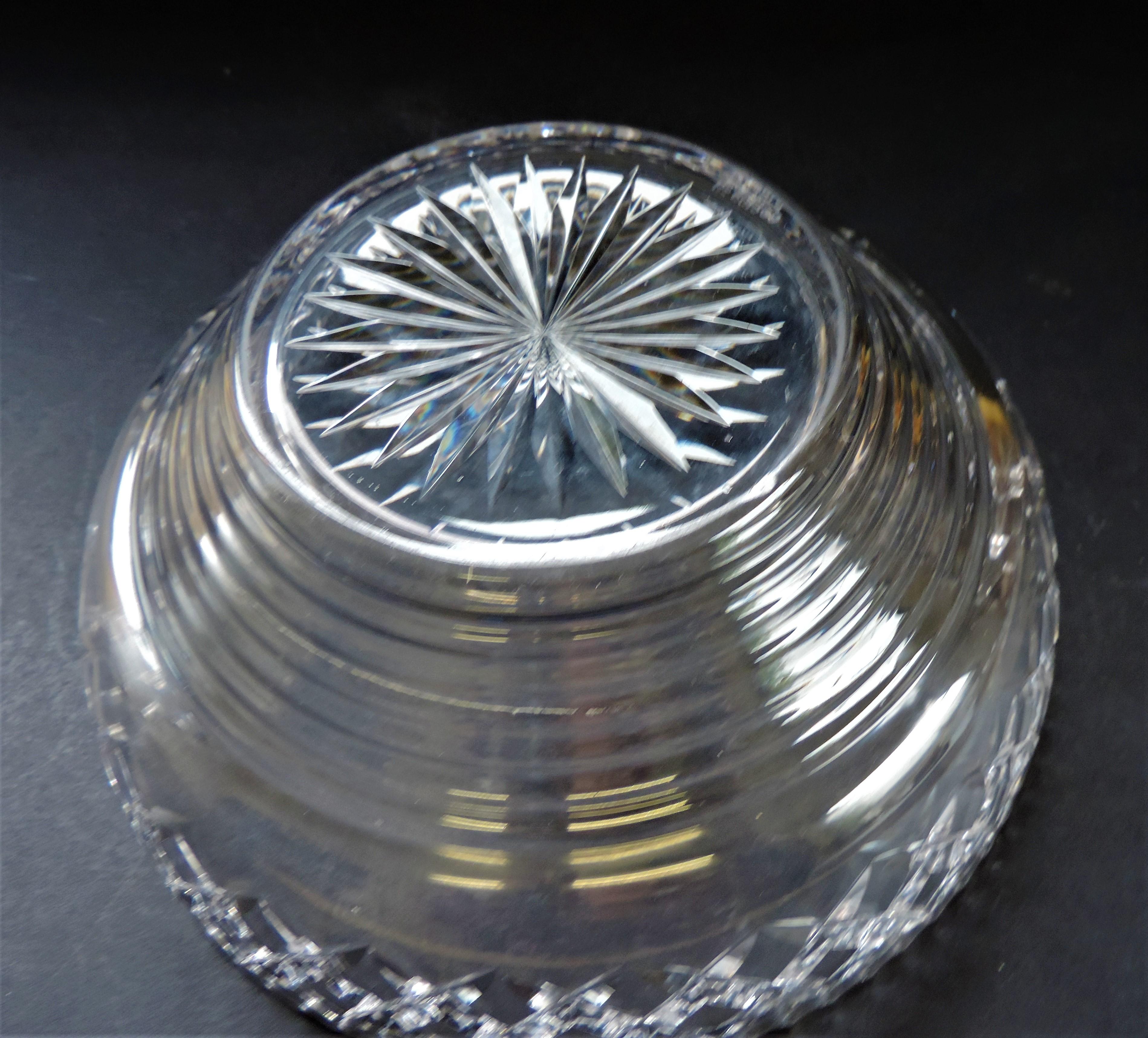 Vintage Art Deco Stuart Crystal Fruit Bowl - Image 3 of 5