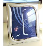 Large 29cm Tall Silver Plated Photo Frame
