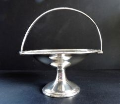 Antique Silver Plated Pedestal Bon Bon Dish