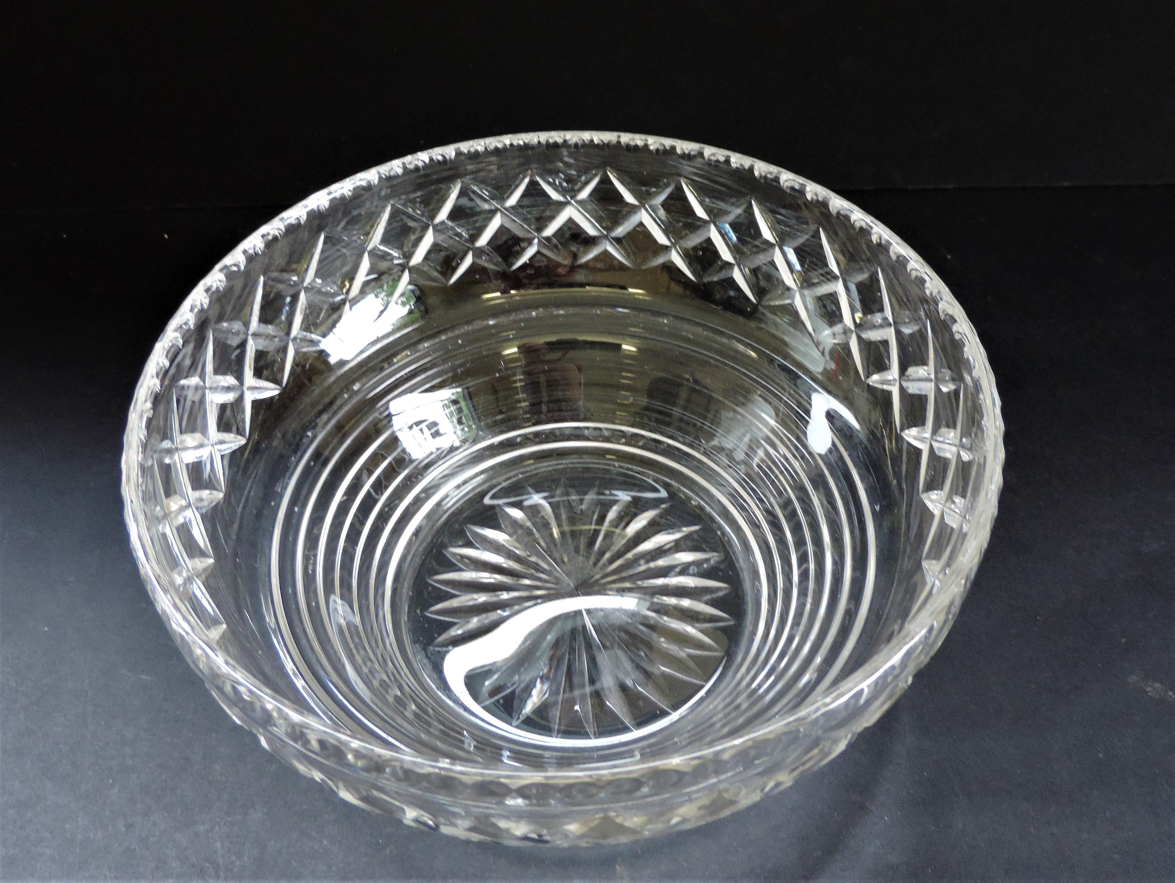 Vintage Art Deco Stuart Crystal Fruit Bowl - Image 4 of 5