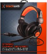 (R15A) Tech. 2 Items. 1 X Blackweb Virtual 7.1 Gaming Headset & 1 X Blackweb Active Noise Cancelling