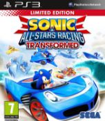 (R15I) Gaming. 8 Items. 1 X PS3 Sonic All Stars Racing Transformed, 1 X Call Of Duty Back Ops III,