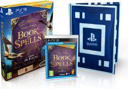 (R15I) Gaming. 3 Items. 2 X PS3 Miranda Goshawk Book Of Spells (New / Sealed) & 1 X Miranda Goshawk
