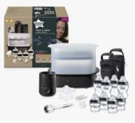 (R15A) Baby. 2 Items. 1 X Tommee Tippee Closer To Nature Complete Feeding Set Black & 1 X Tommee Ti