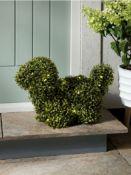 (R15I) Garden. 4 Items. 1 X Solar Topiary Dog (EW52xD23xH34cm), 2 X (6 Pack) Multifunctional Solar