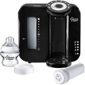 (R15I) Baby. 1 X Tommee Tippee Perfect Prep Machine Special Edition Black (New)