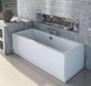 1800x800mm Large Double Ended Square Bath (Damaged)