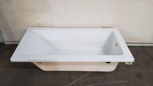 Kensington 1400x700 Single Ended Acrylic Compact Bath (CKEN1470S)