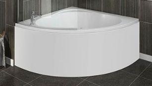 1200x1200 Laguna Corner Bath With Front Panel (Damage)