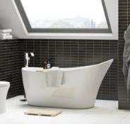 Mode Bathrooms Hardy Free Standing Bath 1600x750mm (RBAIF2002)