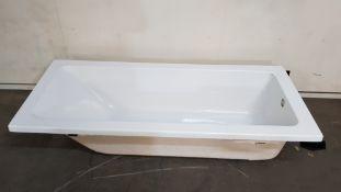1700x700 Single Ended Acrylic Bath (NHLT1770)