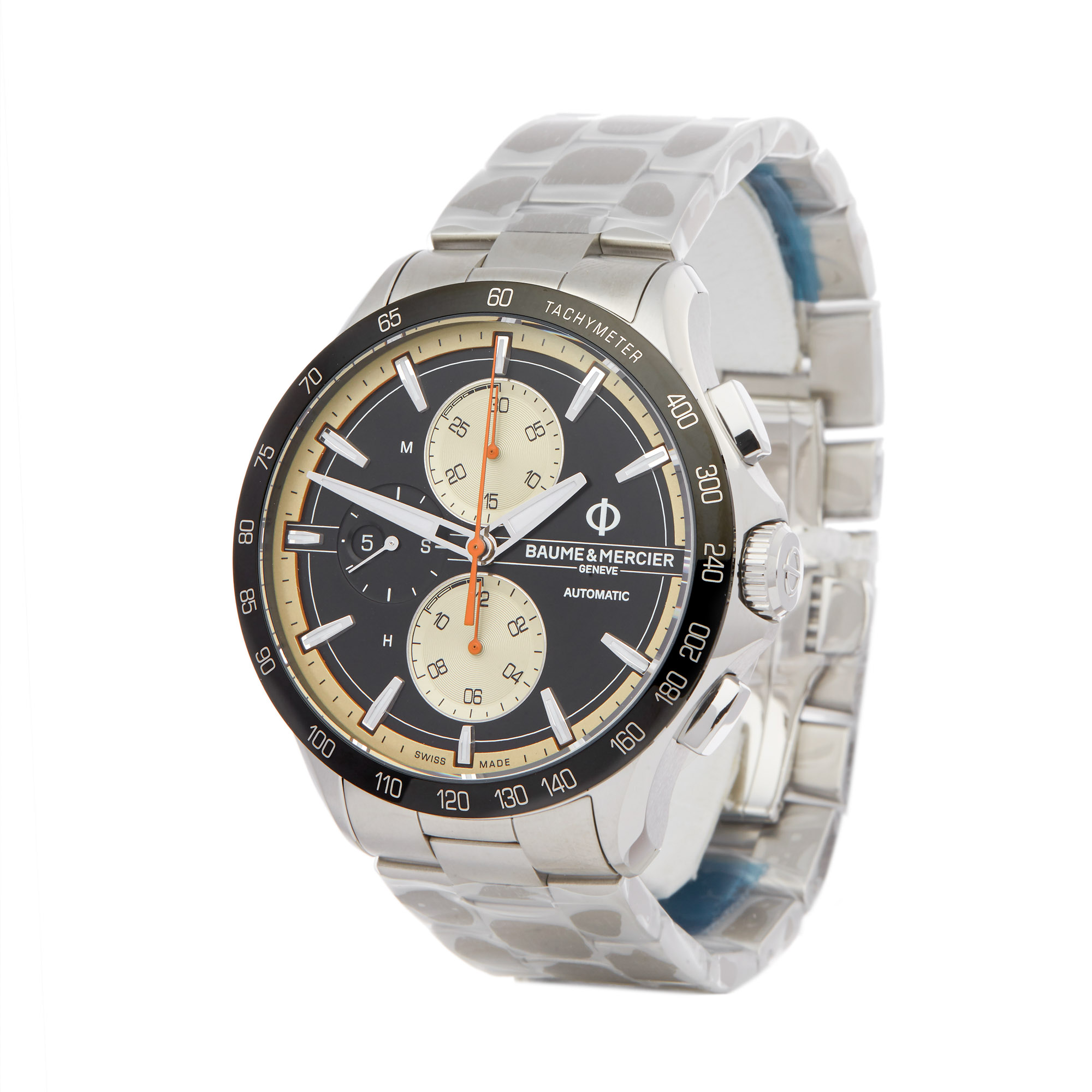Baume & Mercier Clifton Club M0A10435 Men Stainless Steel Chronograph Watch - Image 8 of 9