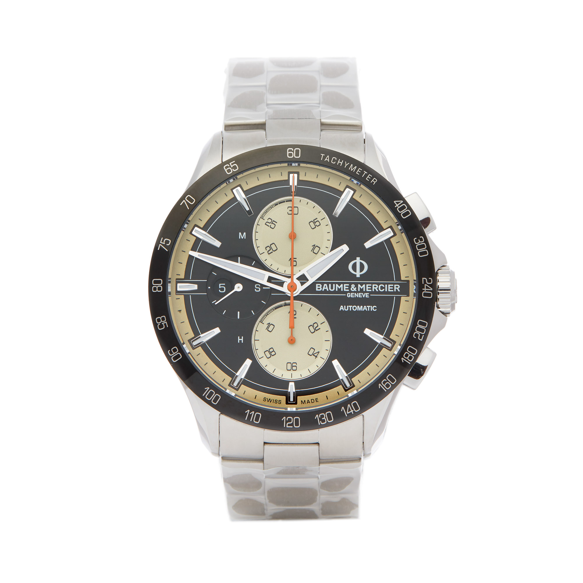 Baume & Mercier Clifton Club M0A10435 Men Stainless Steel Chronograph Watch - Image 9 of 9