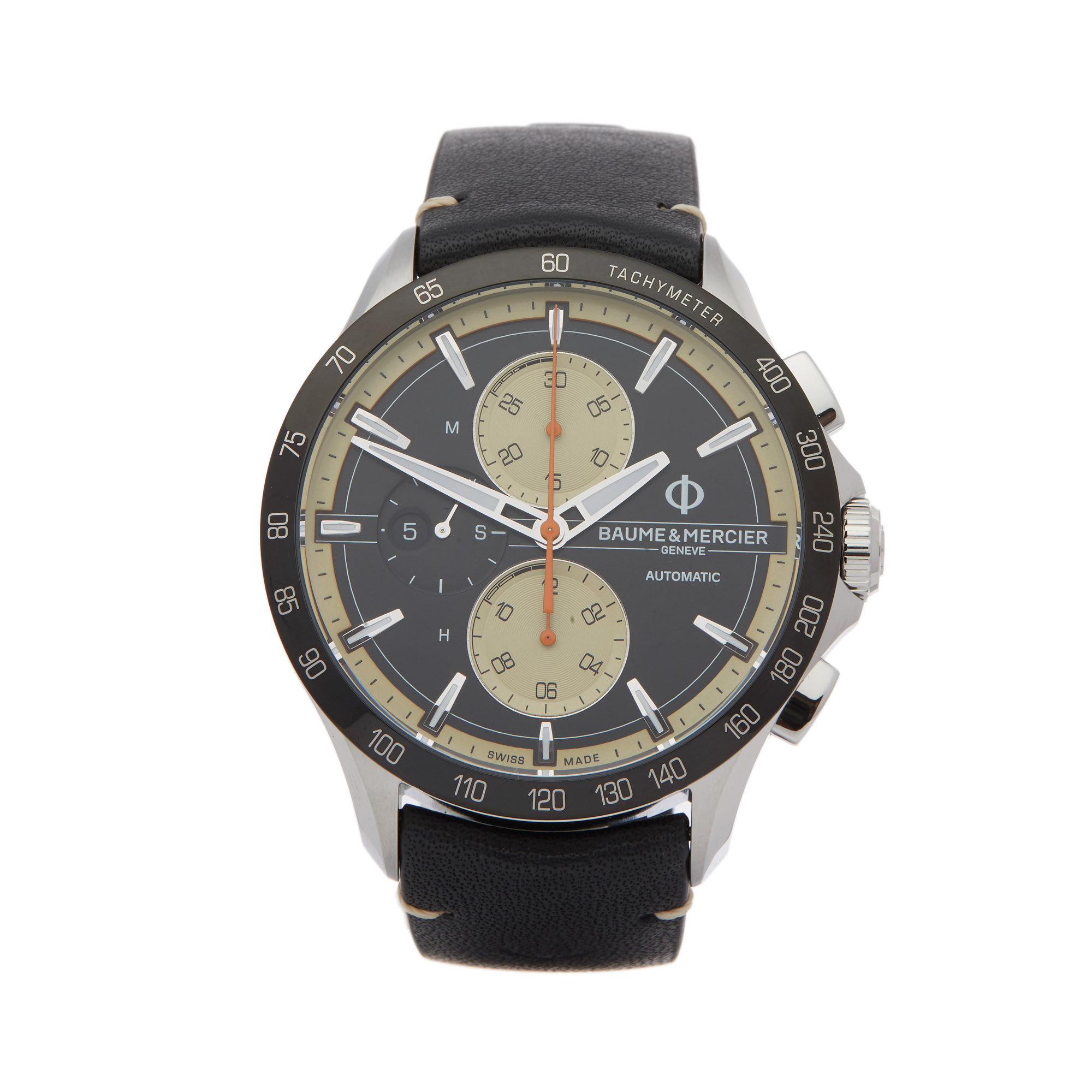 Baume & Mercier Clifton Club M0A10434 Men Stainless Steel Chronograph Watch - Image 9 of 9